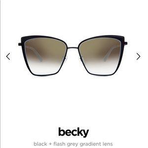 Diff Becky Cat-Eye Sunglasses NIB!